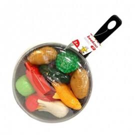 Σετ Τηγάνι με Τρόφιμα 20 τμχ - Beeboo (45006131Α)