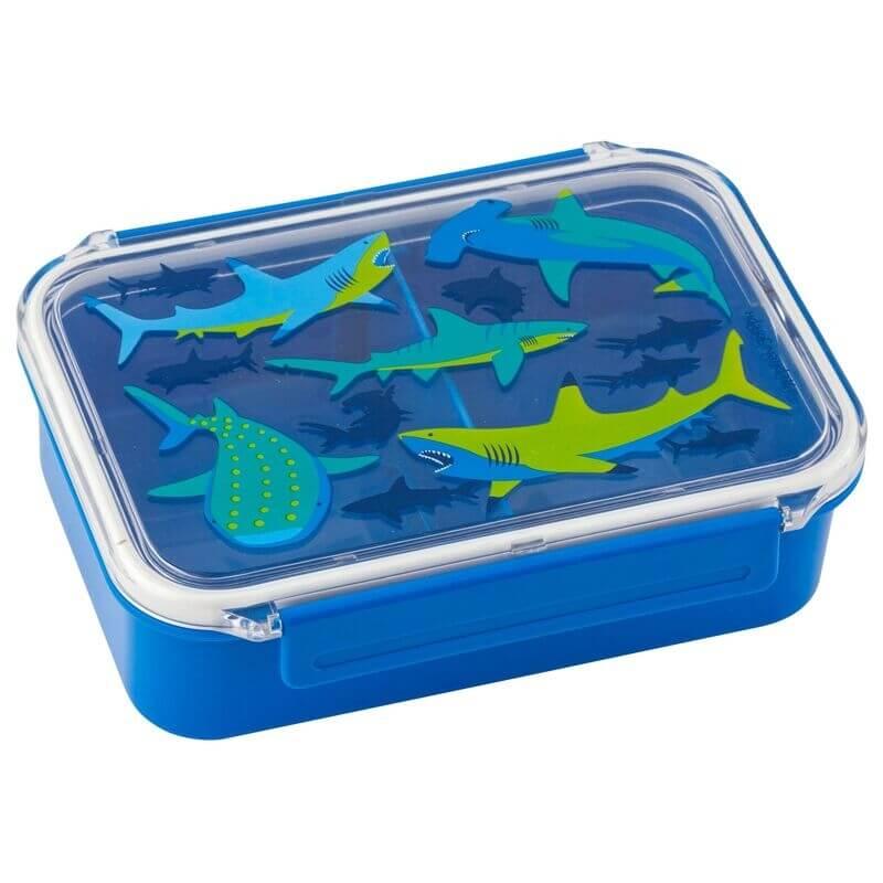 """Παιδικό Δοχείο Φαγητού Πλαστικό """"Καρχαρίας"""" - Stephen Joseph (SJ115180)"""