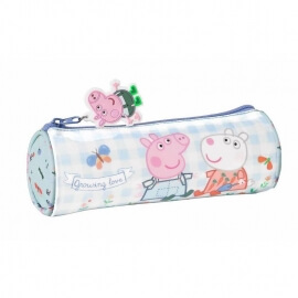 Peppa Pig Σχολική Κασετίνα Βαρελάκι - Safta (812190026)
