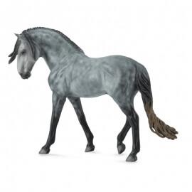 Collecta Μεγάλα Άλογα 1/12 - Ανδαλουσιανός Επιβήτορας σκούρο γκρι (89555)