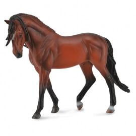 Collecta Μεγάλα Άλογα 1/12 - Ανδαλουσιανός Επιβήτορας ανοιχτό καφέ (89554)