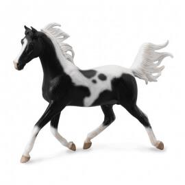 Collecta Μεγάλα Άλογα 1/12 - Ημιαραβικός Επιβήτορας Μαυρόασπρος (89462)