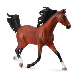 Collecta Μεγάλα Άλογα 1/12 - Αραβικός Επιβήτορας ανοιχτό καφέ (89460)