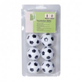Σετ 6 Μπαλάκια για Ποδοσφαιράκι 36mm