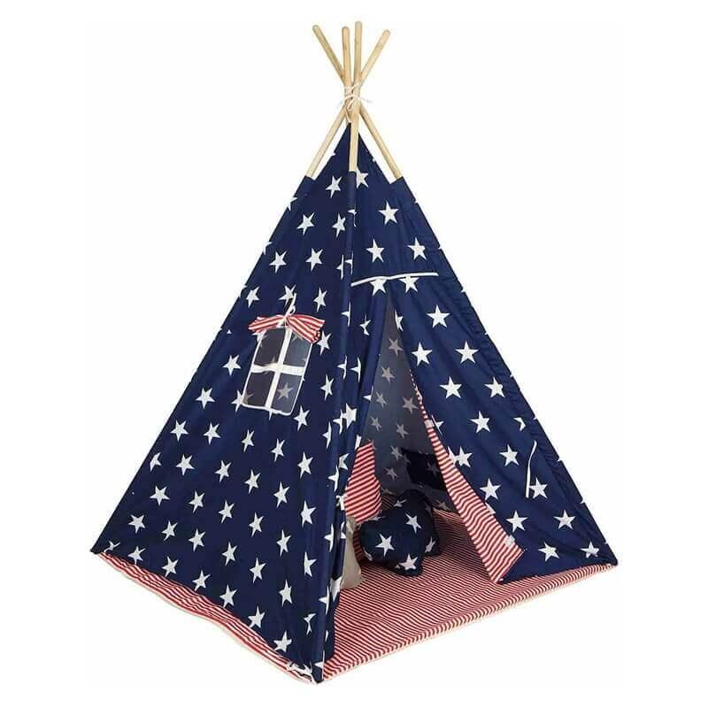 Παιδική Σκηνή Baby Adventure Teepee Stars & Stripes