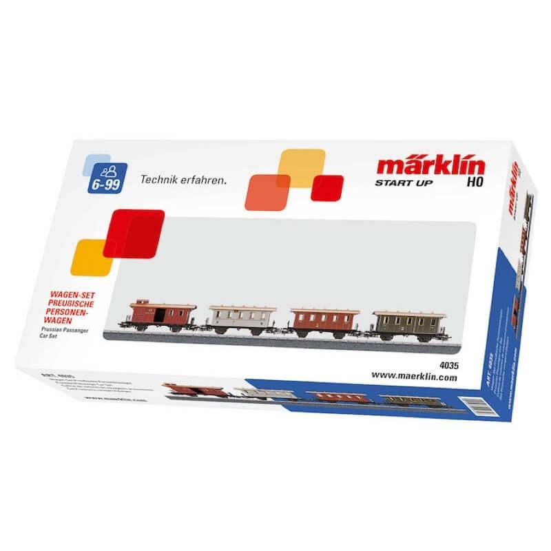 """Märklin start up - Σέτ Βαγόνια """"Prussian Passenger Car Set"""""""