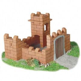 Teifoc - Χτίζοντας με Πραγματικά Τουβλάκια 'Mικρό Κάστρο 3 σχέδια