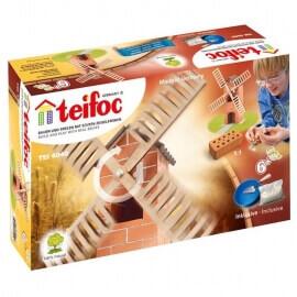 Teifoc - Χτίζοντας με Πραγματικά Τουβλάκια 'Ανεμόμυλος'