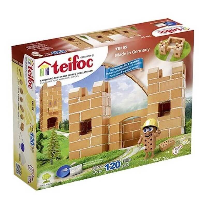 Teifoc - Χτίζοντας με Πραγματικά Τουβλάκια 'Κάστρο'