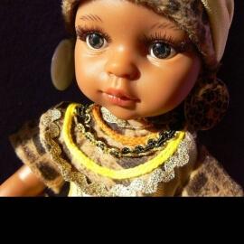 Κούκλα Paola Reina Amigas 'Nora Africana' 32cm
