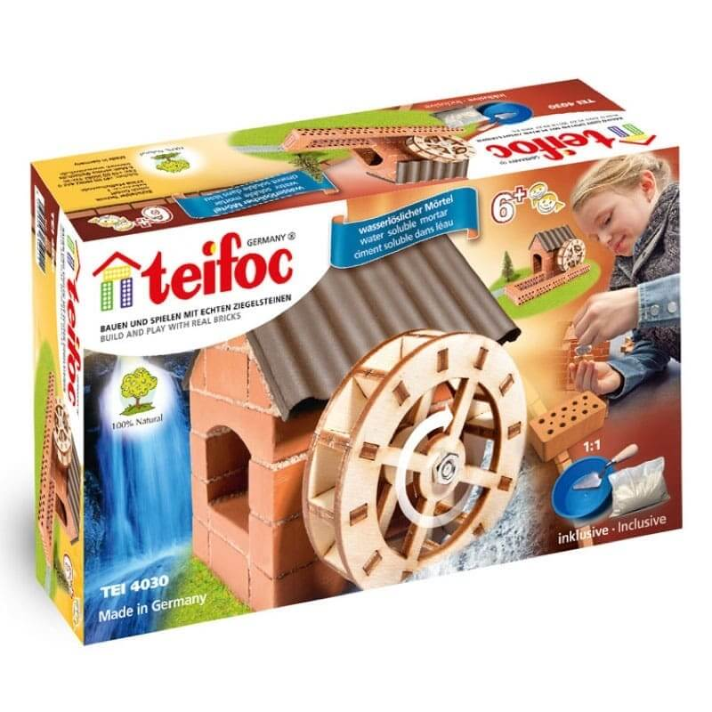 Teifoc - Χτίζοντας με Πραγματικά Τουβλάκια 'Νερόμυλος'