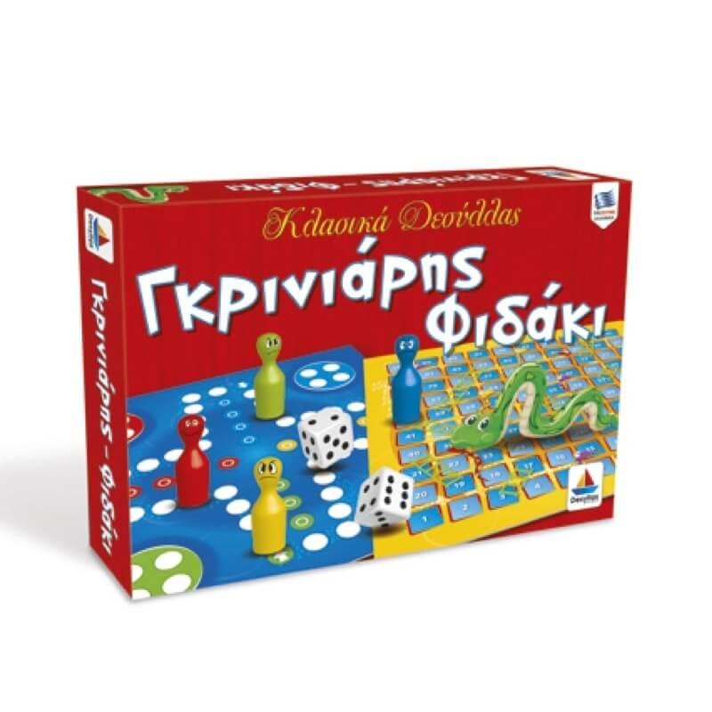 Γκρινιάρης - Φιδάκι Επιτραπέζιο Παιχνίδι
