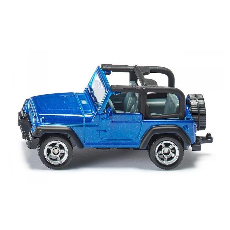 Jeep Wrangler - Μεταλλική Μινιατούρα Siku (1342)