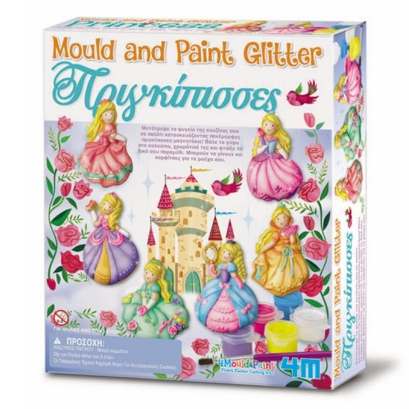 Κατασκευή Πριγκίπισσες Μαγνητάκια/Καρφίτσες 4Μ (0148)