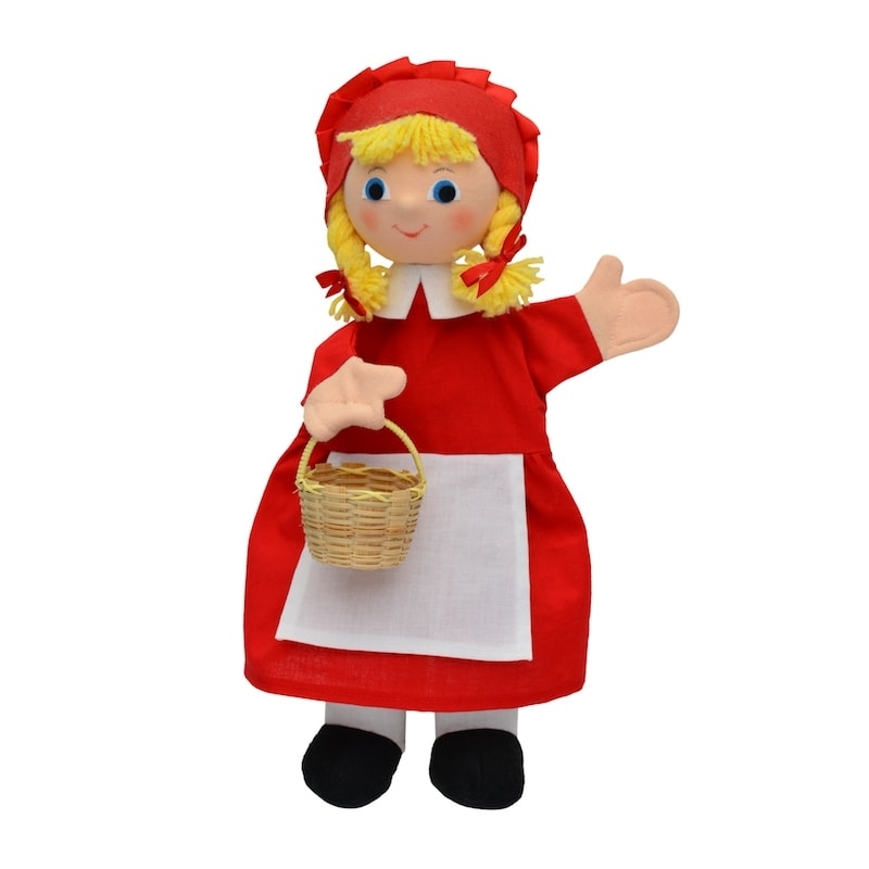 Κούκλα Κουκλοθεάτρου - Κοκκινοσκουφίτσα