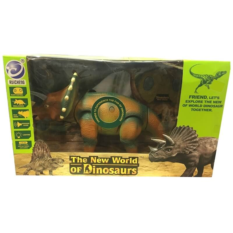 Dinosaur World - Τρικέρατος τηλεκατ. με ήχο και φώς