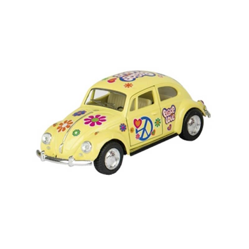 Μεταλλικό VW Beetle 1967 κίτρινο