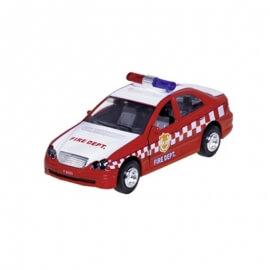 Mεταλλικό Mercedes Πυροσβεστικής Κόκκινο με ήχους και φώτα