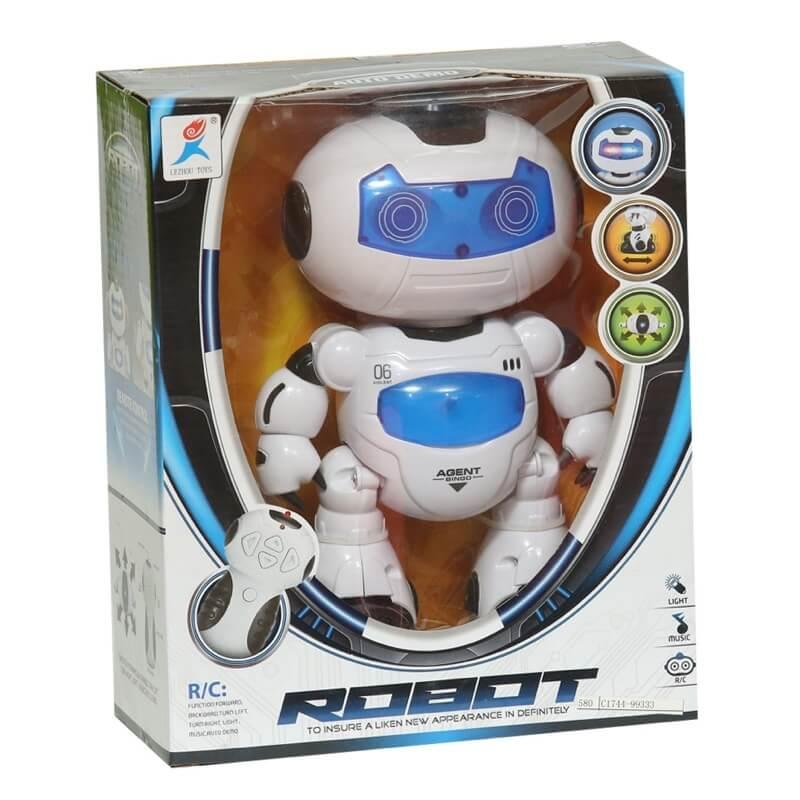 Τηλεκατευθυνόμενο Ρομπότ με Πολλαπλές Λειτουργίες