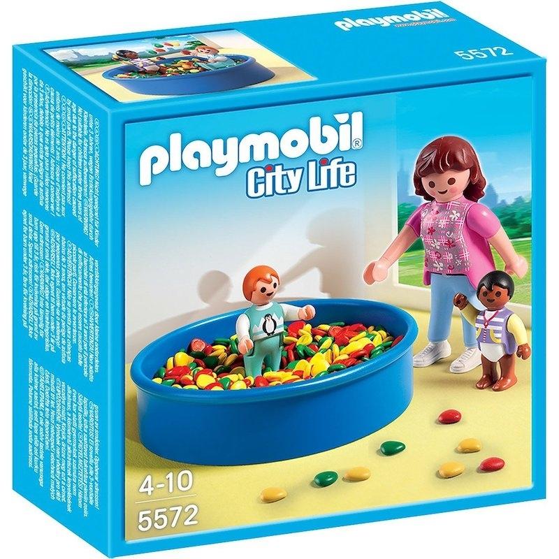 35ce8d2400 Playmobil Σχολείο και Παιδικός Σταθμός - Πισίνα με Μπάλες (5572) - Pla