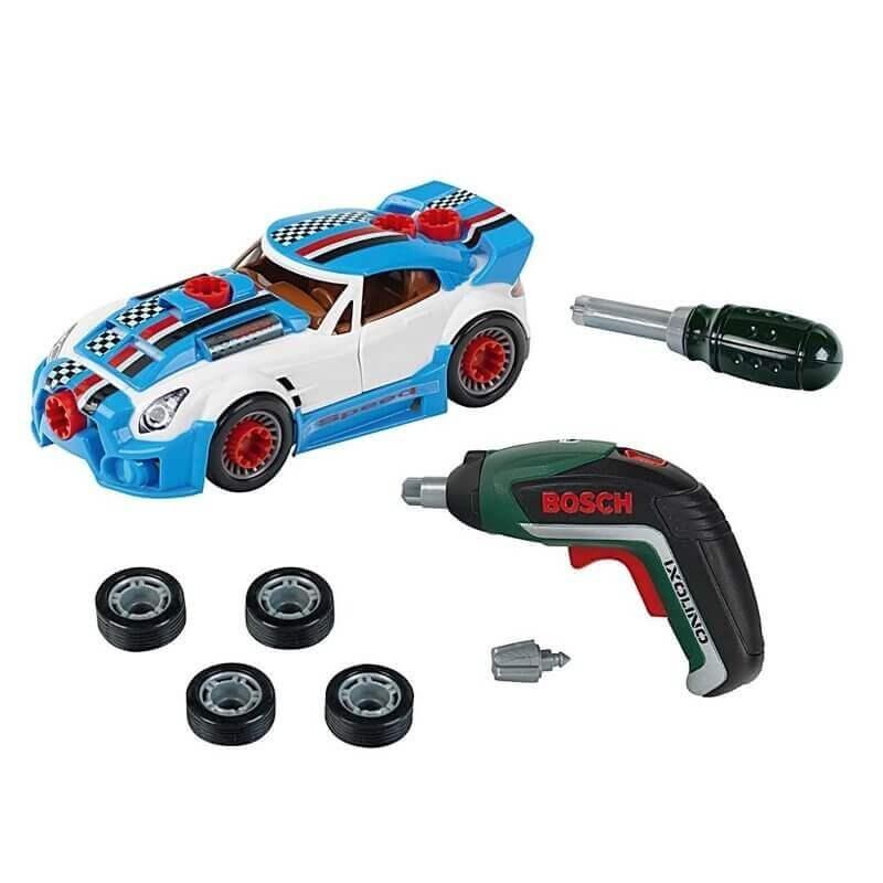 Σέτ Παιδικό Συνεργείο με Αυτοκίνητο και Εργαλεία Bosch