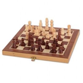 Σκάκι με Ξύλινα Πιόνια - Vedes