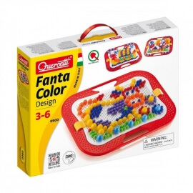 Ψηφιδωτό-Κατασκευή Quercetti Fanta Color Design