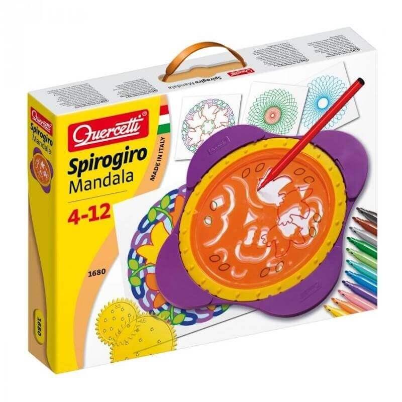 Ζωγραφική Μάνταλα - Spirogiro Mandala