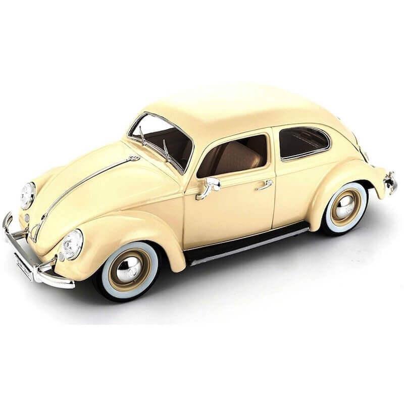 Bburago 1:18 Volkswagen Käfer Beetle 1955 κρεμ