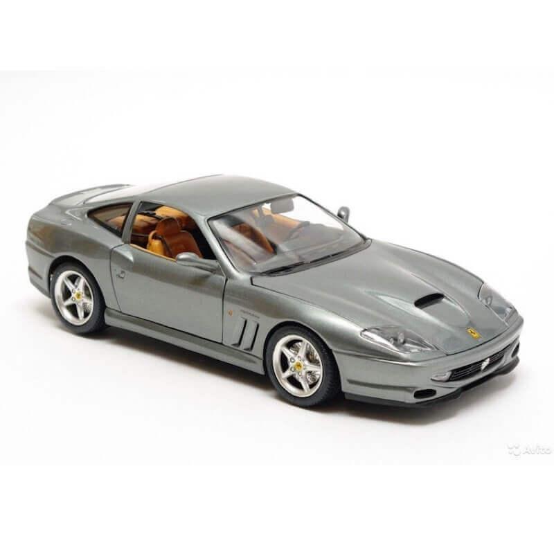 Bburago 1:24 Ferrari 550 Maranello ασημί