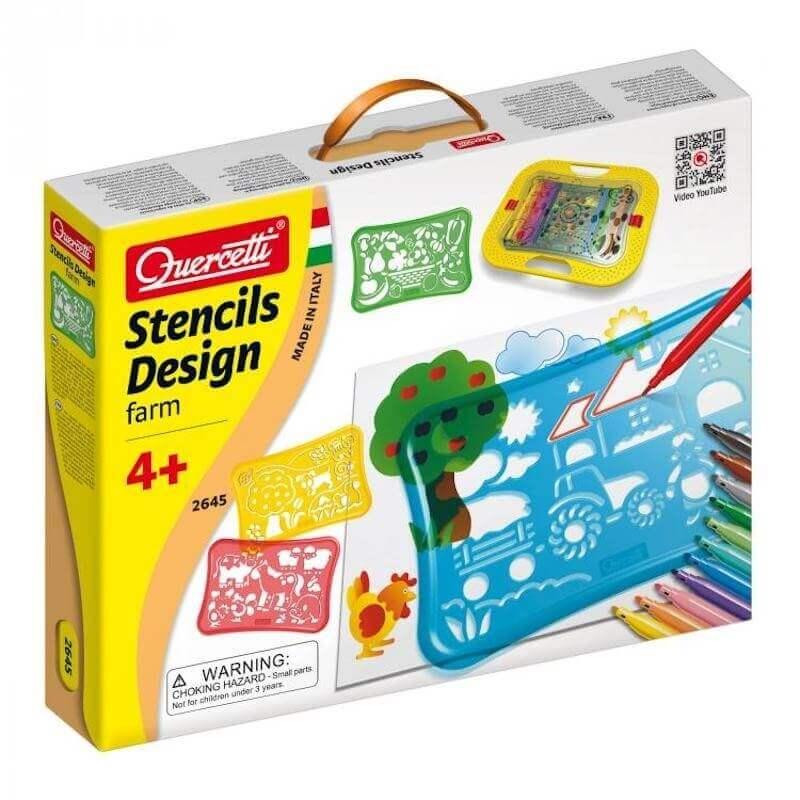 Ζωγραφική με Στένσιλ - Stencils Design Farm