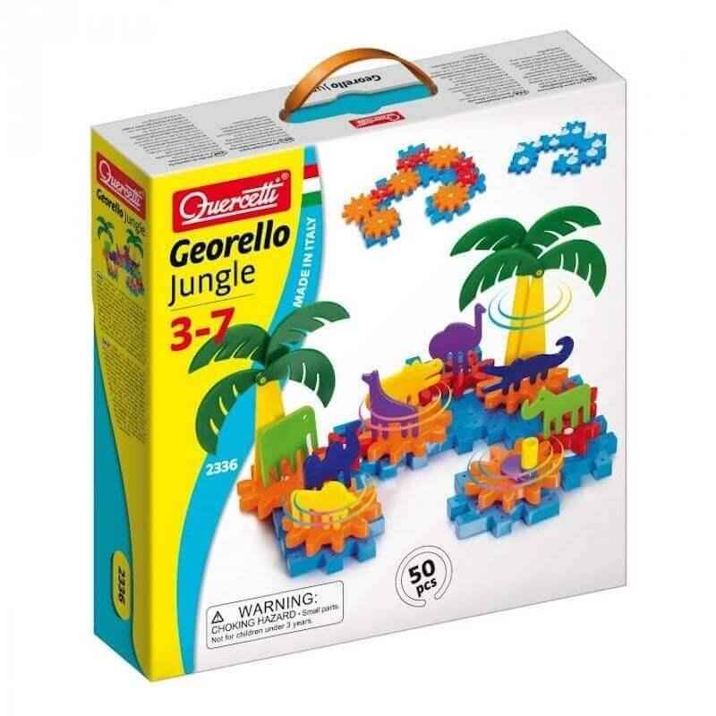 Κατασκευή με Γρανάζια-Ζούγκλα Georello Jungle