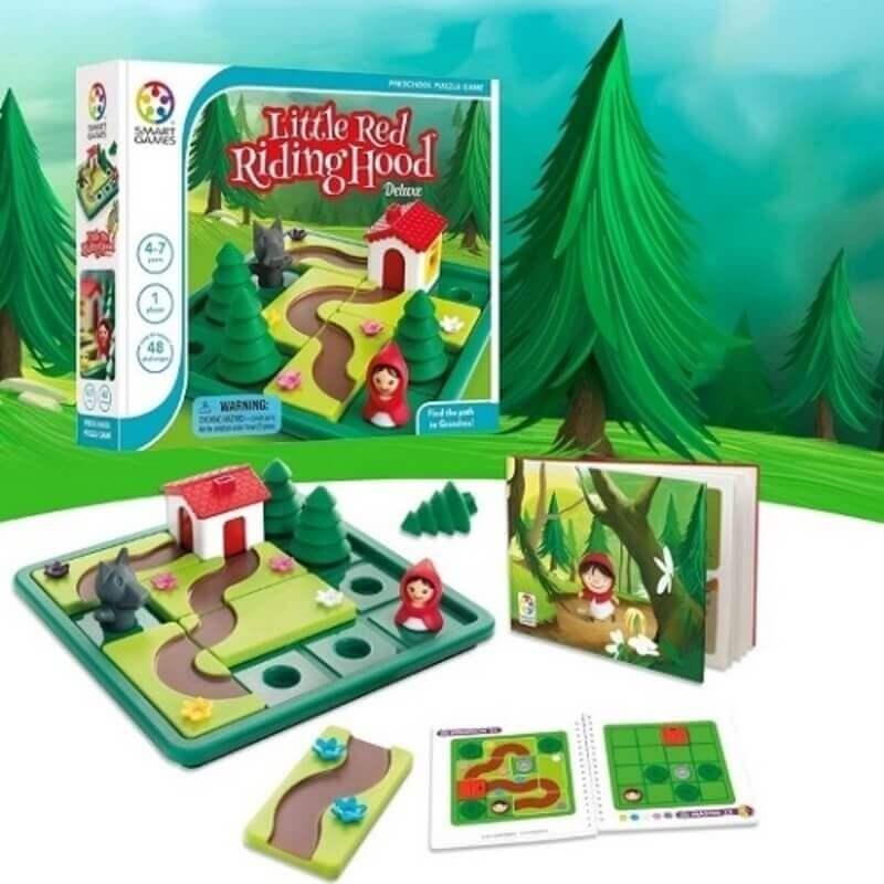 Smart Games Επιτραπέζιο - Κοκκινοσκουφίτσα