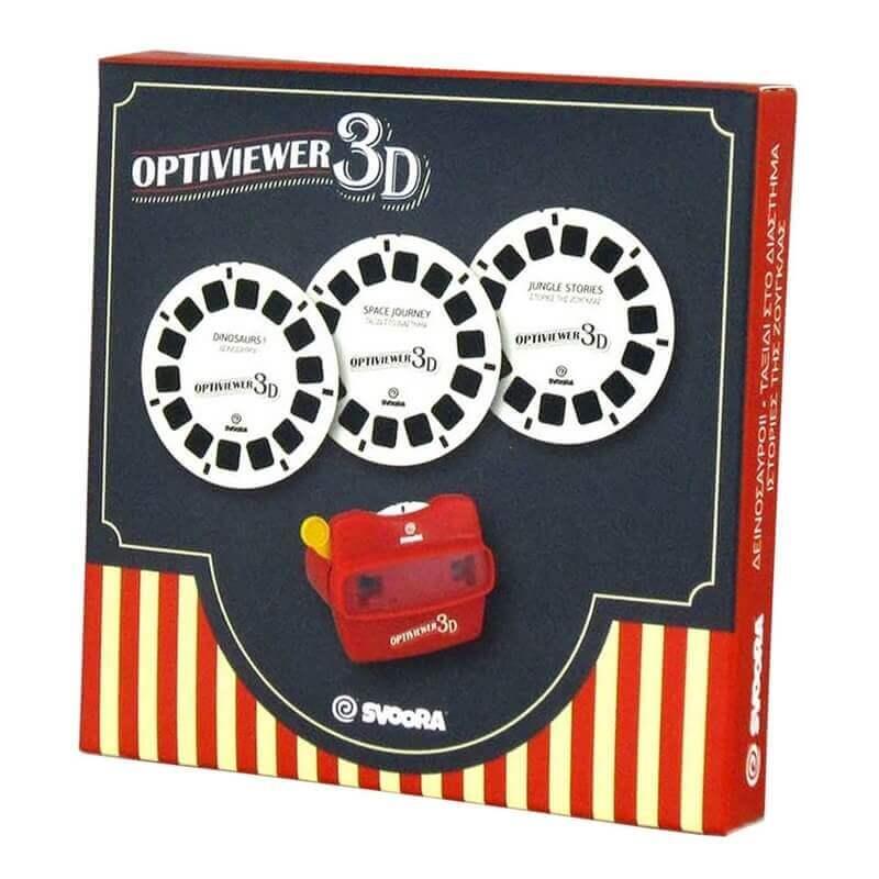 Σετ 3 Δίσκοι για Optiviewer 3D (Viewmaster)
