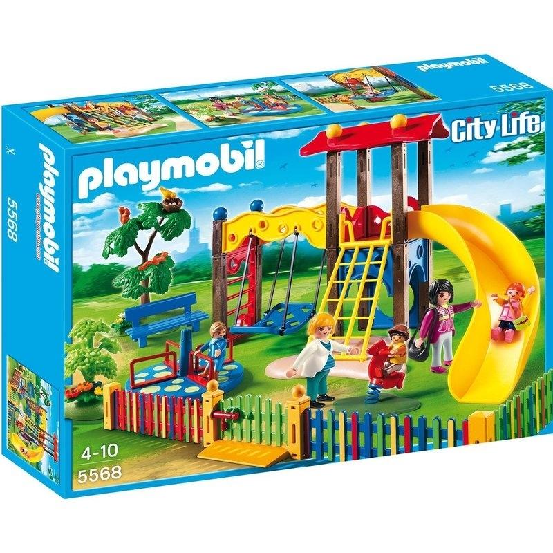 3b49c9a862 Playmobil Σχολείο και Παιδικός Σταθμός - Μοντέρνα Παιδική Χαρά (5568)
