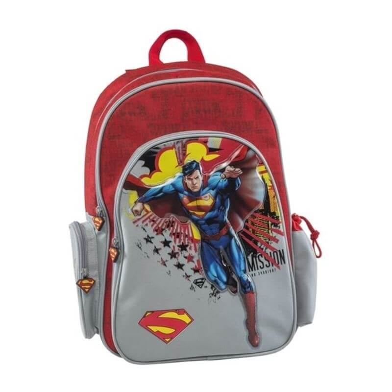 Σακίδιο Δημοτικού Superman Πολυθεσιακό