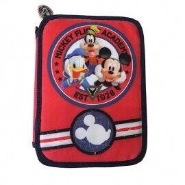 Κασετίνα γεμάτη διπλή Mickey Mouse