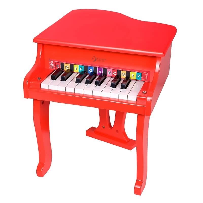 Ξύλινο Πιάνο Σταρ κόκκινο (4018)
