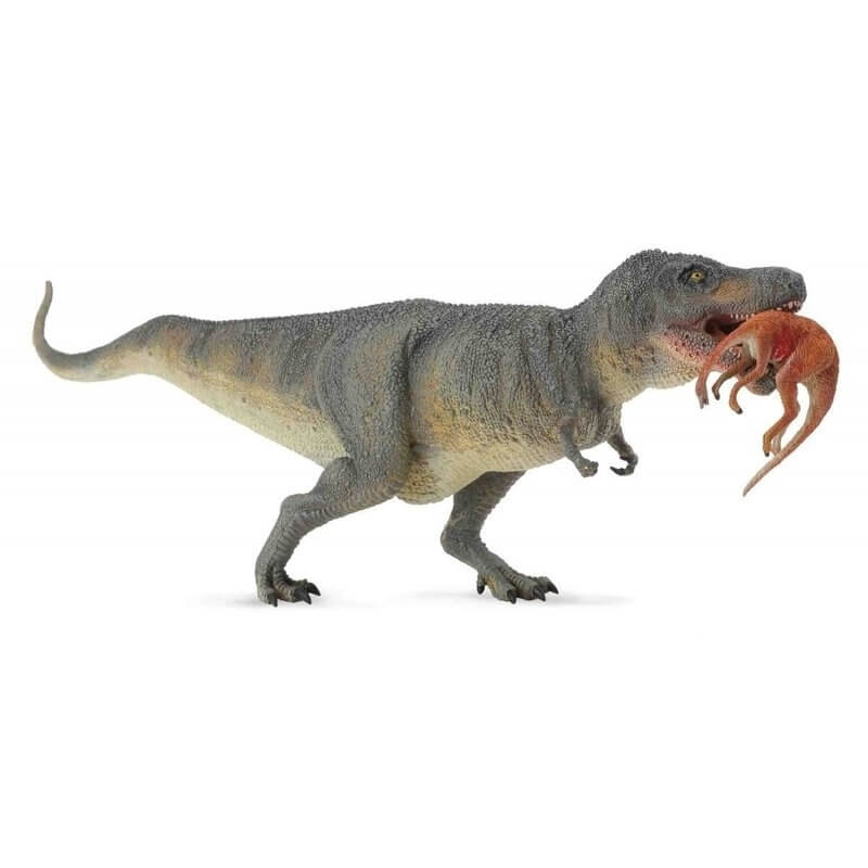 Dinosaur World Τ-Ρέξ με Θύραμα