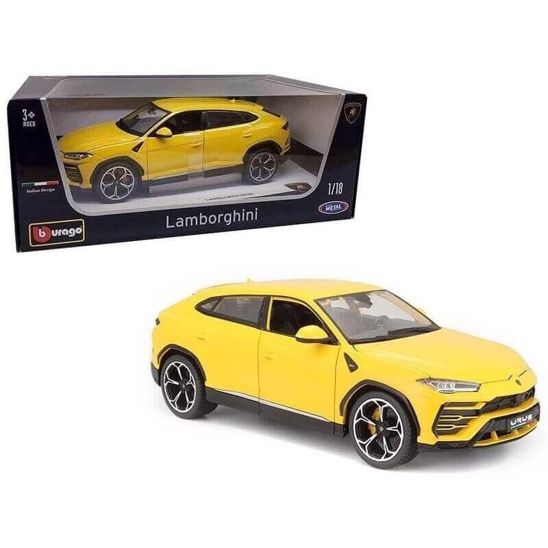 Bburago 1:18 Lamborghini Urus κίτρινη