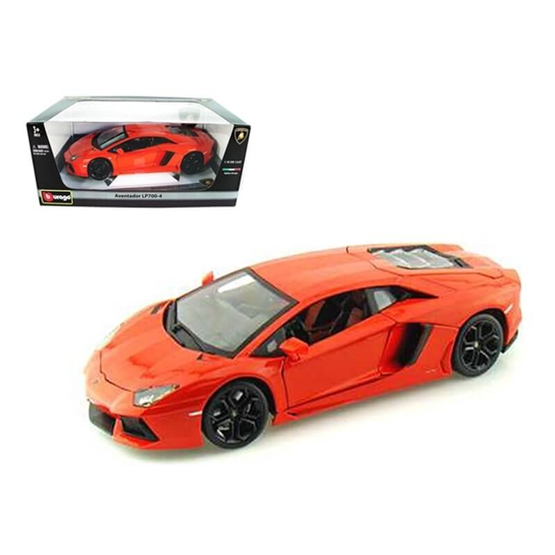 Bburago 1:18 Lamborghini Aventador LP 700-4 πορτοκαλί