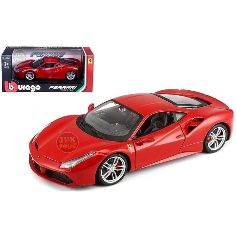 Bburago 1:24 Ferrari 488 GTB κόκκινη