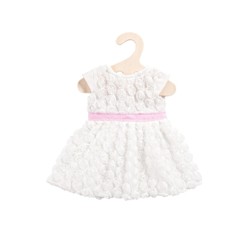Φορεματάκι Heless Λευκό για Κούκλα 35-45 εκ.