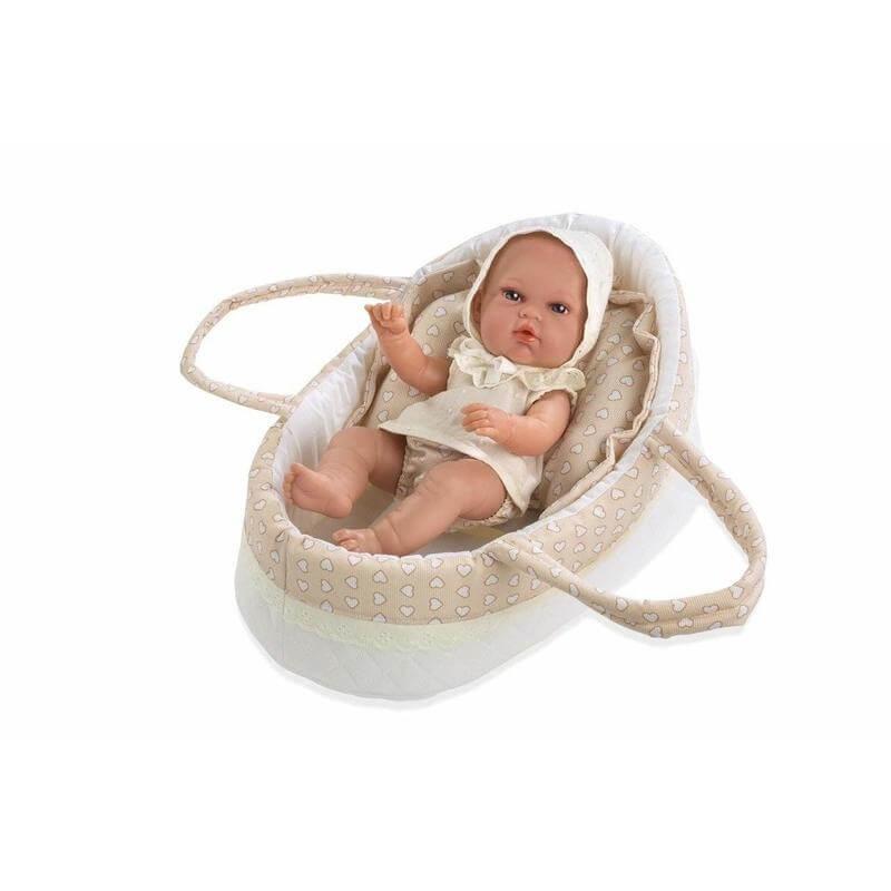 Μωρό Βινυλίου με Πόρτ Μπεμπέ Natal Μπεζ 33 εκ.