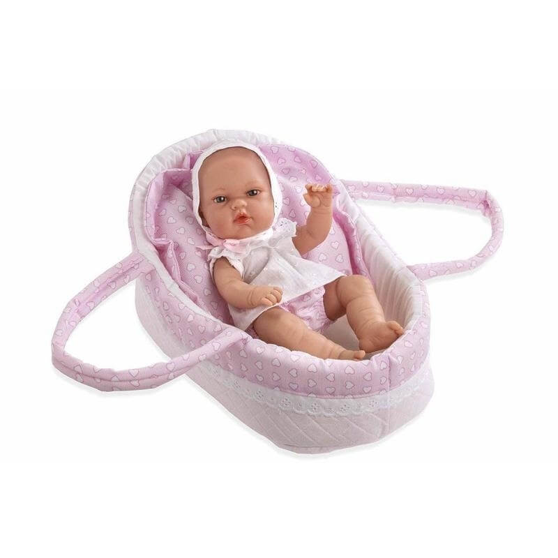 Μωρό Βινυλίου με Πόρτ Μπεμπέ Natal Ροζ 33 εκ.