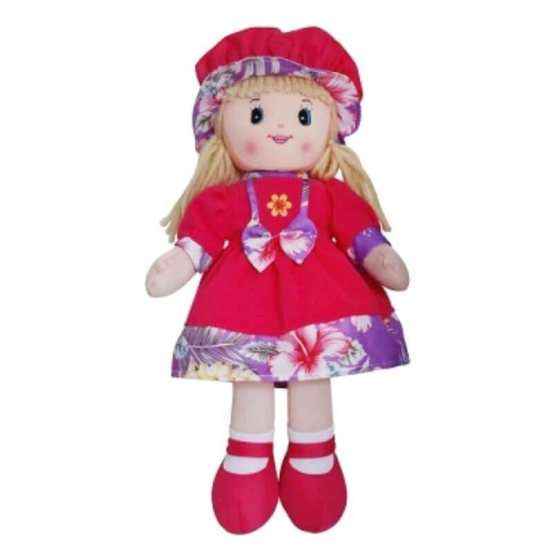 Κούκλα Πάνινη Lotte με Καπέλο 40 εκ.
