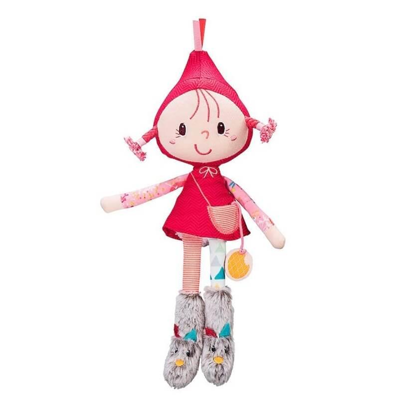 Πάνινη Κούκλα Κοκκινοσκουφίτσα