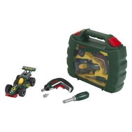 Βαλιτσάκι Κατασκευή Φόρμουλα με Εργαλεία Bosch και Κατσαβίδι μπατ.