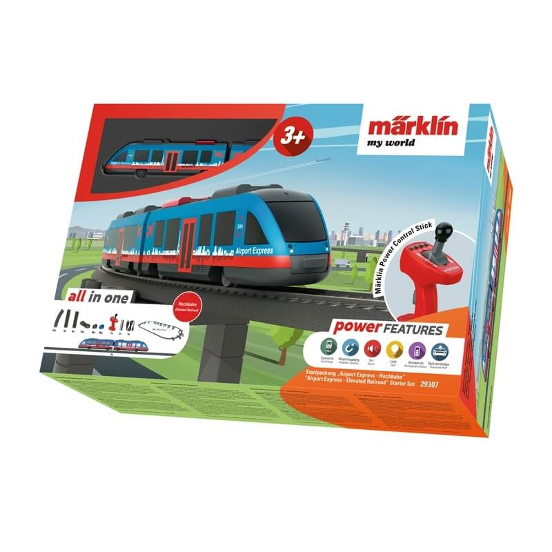 Σετ Τρένο Αεροδρομίου Märklin my world 'Airport Express-Elevated Railroad' (29307)