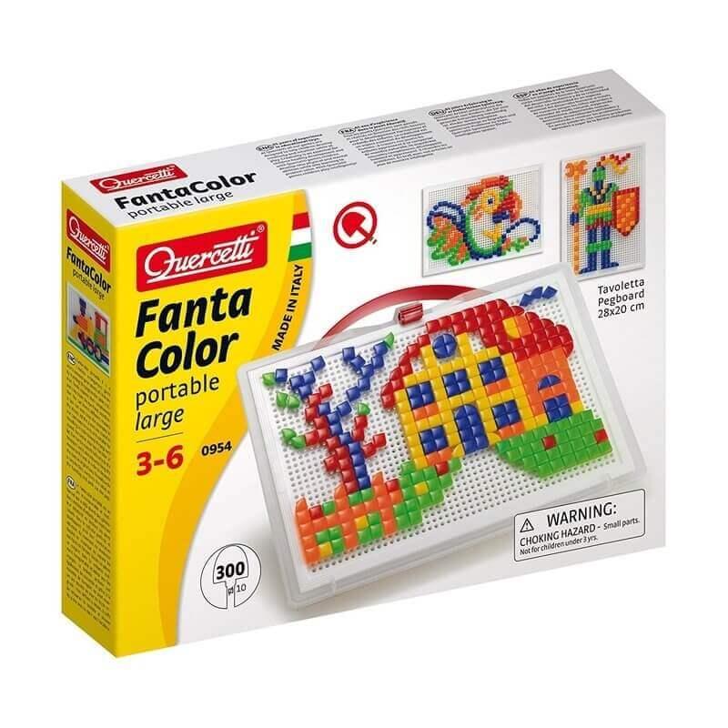 Ψηφιδωτό-Κατασκευή Quercetti Fanta Color 300 τεμ.